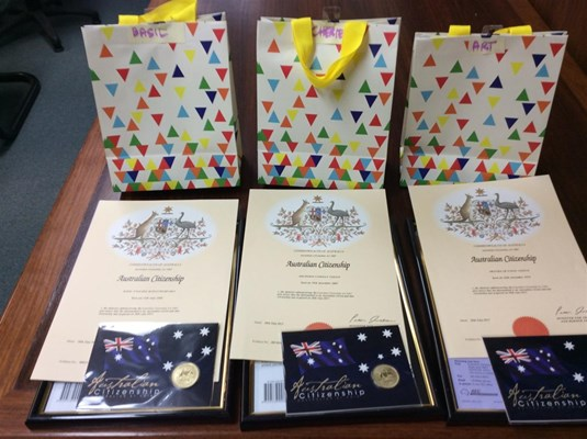 View Citizenship Ceremonies 2015