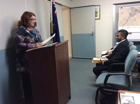 Citizenship Ceremonies 2015 - Hon Melissa Price MP, Member for