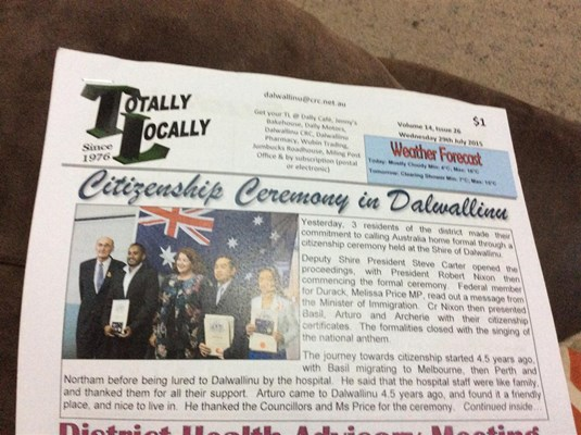 Citizenship Ceremonies 2015 - TL News