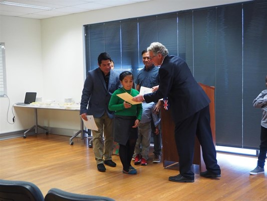 Citizenship Ceremony 27/9/2016 - Citizenship Certificate - Nathan