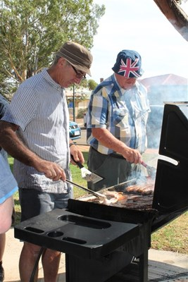 Australia Day Breakfast 2014 - Cr Graham Sanderson and Cr Keith Carter