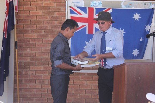 View Citizenship Ceremony 26 Jan 2018