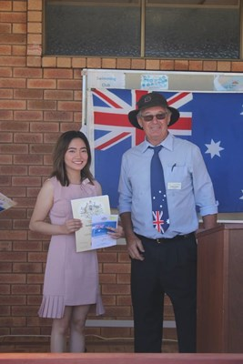 Citizenship Ceremony 26 Jan 2018 - AP with President
