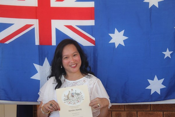Citizenship Ceremony 26 Jan 2018 - CT