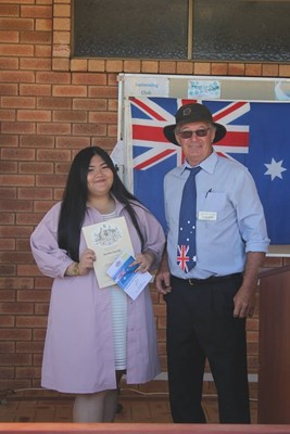 Citizenship Ceremony 26 Jan 2018 - KM with President