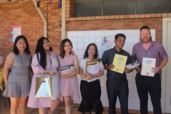 Citizenship Ceremony 26 Jan 2018 - New Citizens