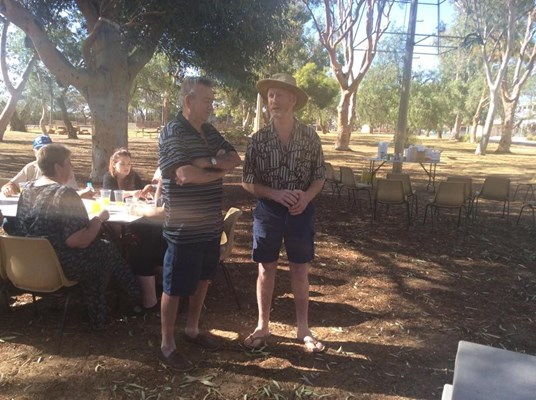 Australia Day Breakfast 2015 - Chatting
