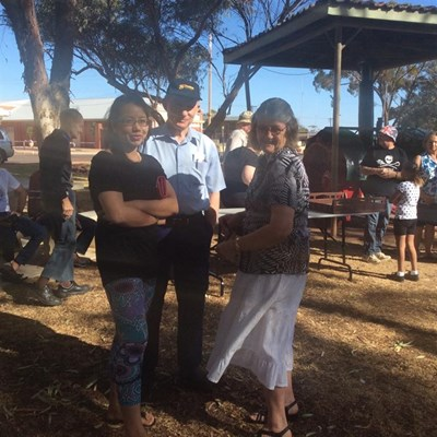 Australia Day Breakfast 2015 - Chatting2