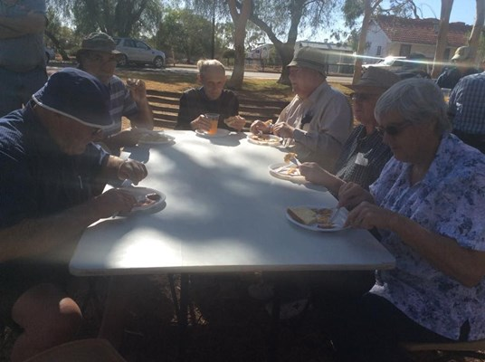 Australia Day Breakfast 2015 - Eating5