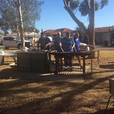 Australia Day Breakfast 2015 - Cooking5
