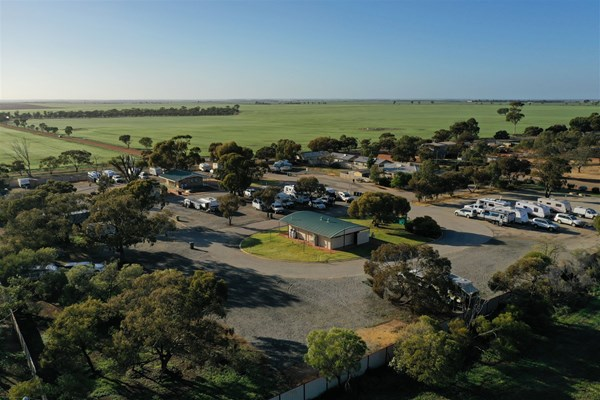 Sky Works Pics - Dally Caravan Park