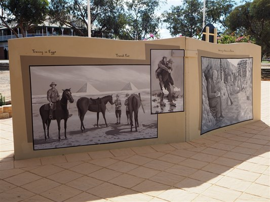 Forces & Their Horses - Mural - Photo15