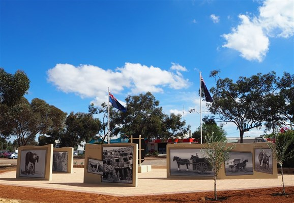 Forces & Their Horses - Mural - Photo16