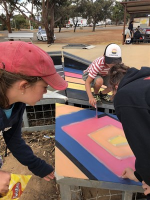 Updated SODL Photos - School Holiday Skate Park Paint Activity