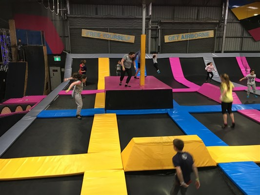Updated SODL Photos - School Holiday Program at Bounce