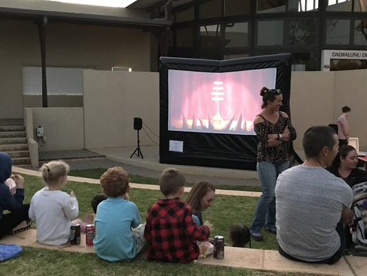 Updated SODL Photos - Community Movie Night Under the Stars