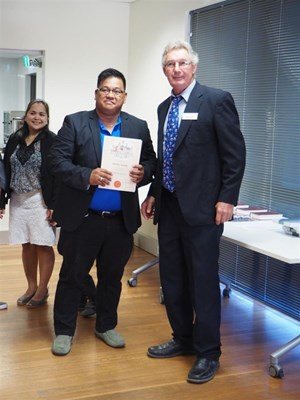 Citizenship Ceremony 21/02/2017 - Certificate of Citizenship - Jim