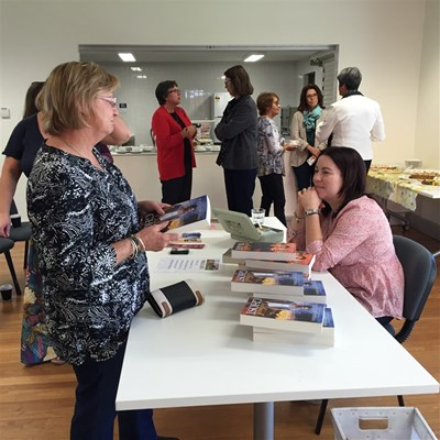 Rachael Johns Library Visit 2015 - Having a copy